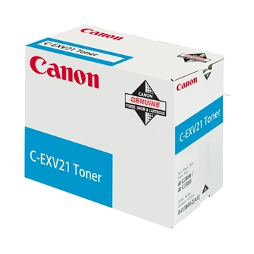 Εικόνα της Toner Canon C-EXV21 Cyan 0453B002