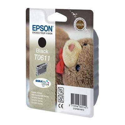 Εικόνα της Μελάνι Epson T0611 Black C13T061140