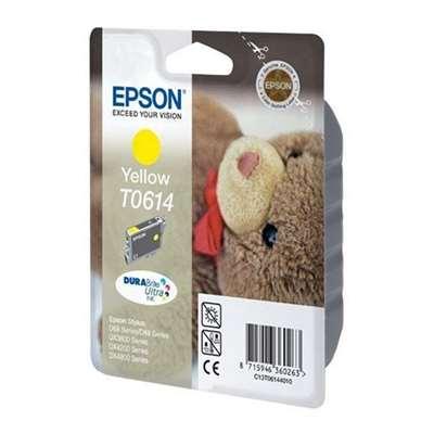 Εικόνα της Μελάνι Epson T0614 Yellow C13T061440