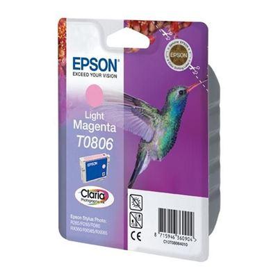Εικόνα της Μελάνι Epson T0806 Light Magenta C13T080640