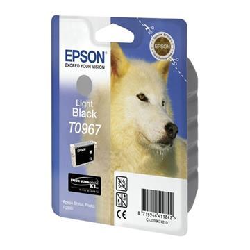 Εικόνα της Μελάνι Epson T0967 Light Black C13T096740