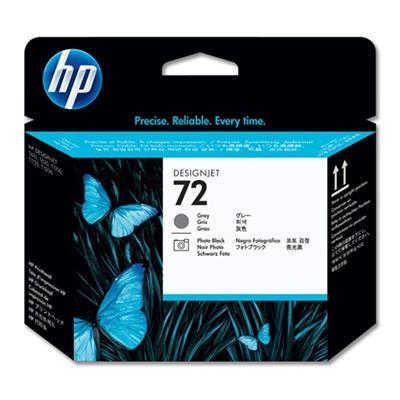 Εικόνα της Κεφαλή Εκτύπωσης HP No 72 Grey και Photo Black C9380A