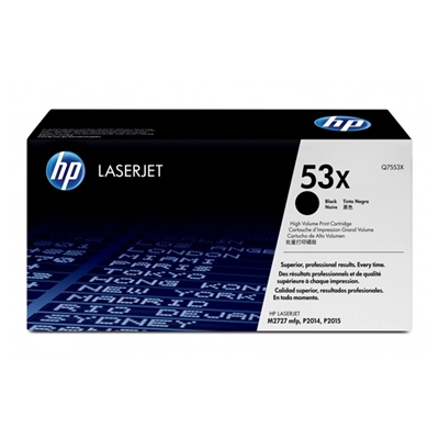 Εικόνα της Toner HP No 53X Black HC Q7553X