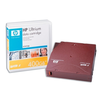 Εικόνα της Tape Ultrium 2 (LTO-2) HP 400GB C7972A