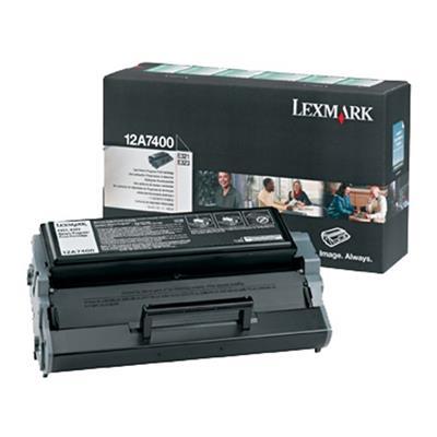 Εικόνα της Toner Lexmark E321 / E322 Black 12A7400