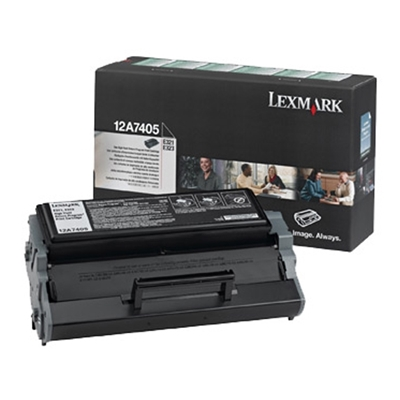 Εικόνα της Toner Lexmark E321 / E322 Black High Yield 12A7405