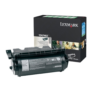 Εικόνα της Toner Lexmark T630 / T632 / T634 Black High Yield 12A7462