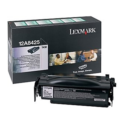 Εικόνα της Toner Lexmark T430 Black High Yield 12A8425