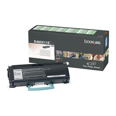 Εικόνα της Toner Lexmark Black High Yield 460X11E