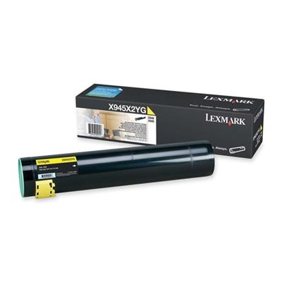 Εικόνα της Toner Lexmark X940e / X945e Yellow High Yield X945X2YG