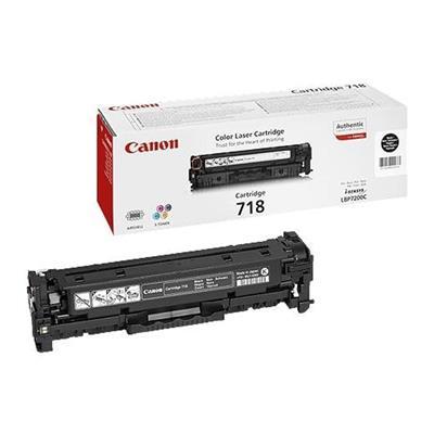 Εικόνα της Toner Canon 718 Black 2662B002
