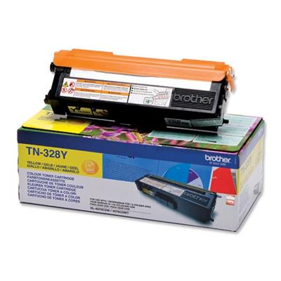 Εικόνα της Toner Brother Yellow Extra HC TN-328Y