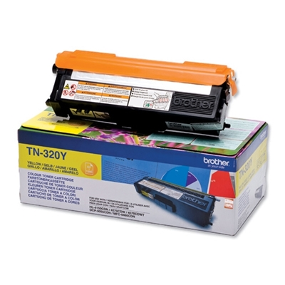 Εικόνα της Toner Brother Yellow TN-320Y