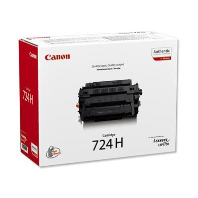 Εικόνα της Toner Canon 724H HC Black 3482B002