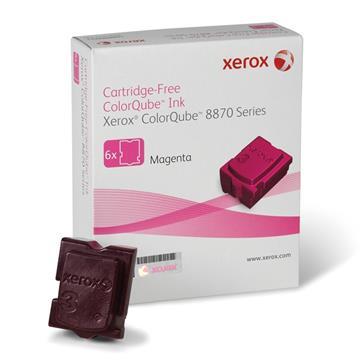 Εικόνα της Solid Ink Xerox Magenta 6 Τεμάχια HC 108R00955