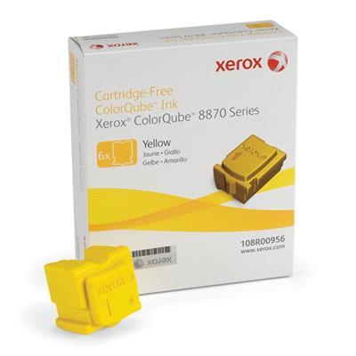 Εικόνα της Solid Ink Xerox Yellow 6 Τεμάχια HC 108R00956