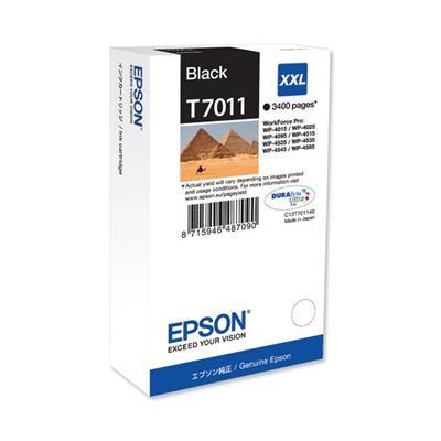 Εικόνα της Μελάνι Epson T7011 Black XXL T701140