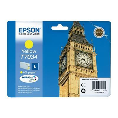 Εικόνα της Μελάνι Epson T7034 Yellow T703440