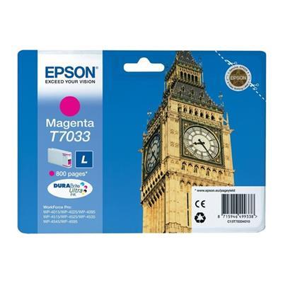 Εικόνα της Μελάνι Epson T7033 Magenta T703340