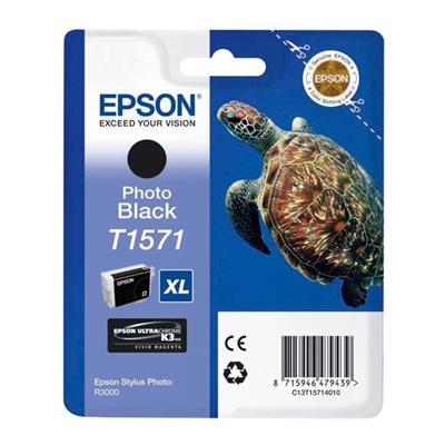Εικόνα της Μελάνι Epson T1571 Photo Black T15714010