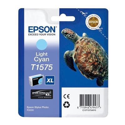 Εικόνα της Μελάνι Epson T1575 Light Cyan T15754010