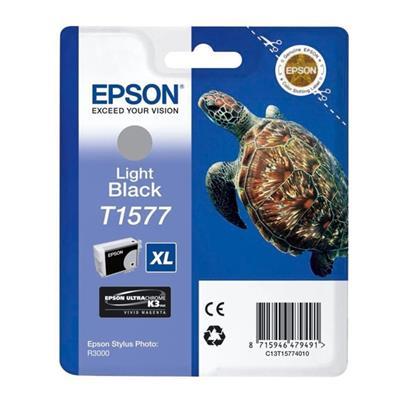 Εικόνα της Μελάνι Epson T1577 Light Black T15774010