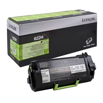 Εικόνα της Toner Lexmark 622H Black Extra HC Return Program 62D2H00