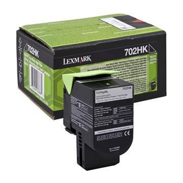 Εικόνα της Toner Lexmark 702HK Black 70C2HK0