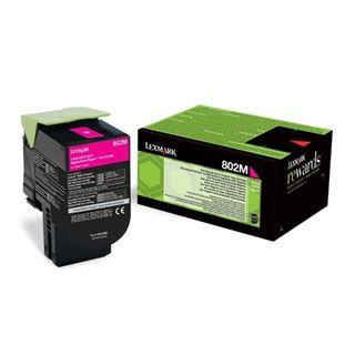 Εικόνα της Toner Lexmark 802M Magenta Return 80C20M0