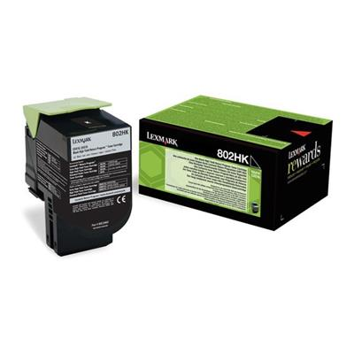 Εικόνα της Toner Lexmark 802HK Black Extra High Yield 80C2HK0