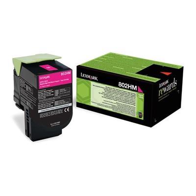 Εικόνα της Toner Lexmark 802HM Magenta Extra High Yield 80C2HM0