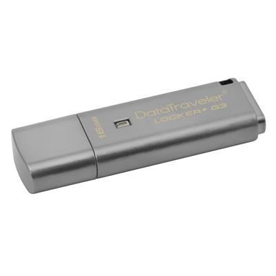 Εικόνα της Kingston Data Traveler Locker G3 16GB USB 3.0 DTLPG3/16GB