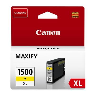 Εικόνα της Μελάνι Canon PGI-1500Y XL Yellow 9195B001