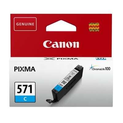Εικόνα της Μελάνι Canon CLI-571C Cyan 0386C001