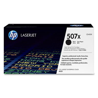 Εικόνα της Toner HP No 507X Black HC CE400X