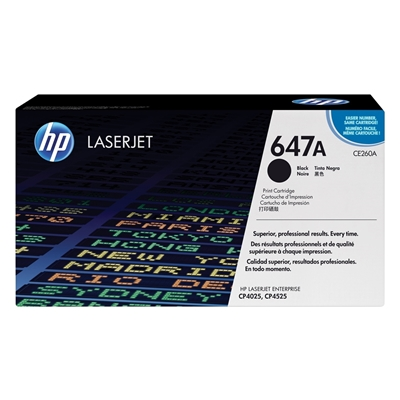Εικόνα της Toner HP No 647A Black CE260A