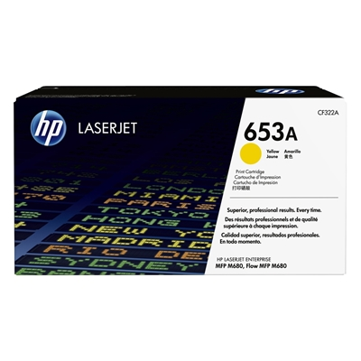 Εικόνα της Toner HP 653A Yellow CF322A