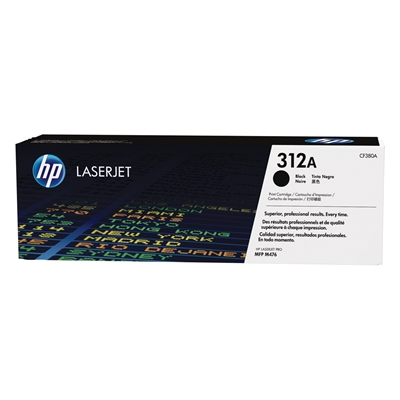 Εικόνα της Toner HP 312A Black CF380A