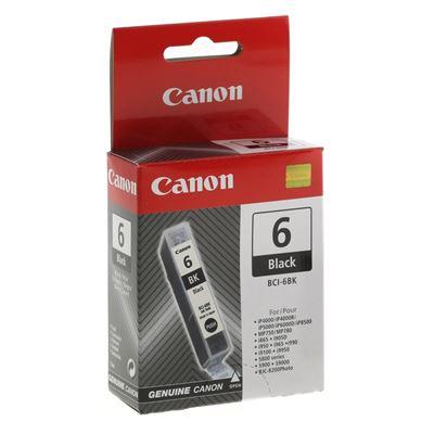 Εικόνα της Μελάνι Canon BCI-6BK Black 4705A002