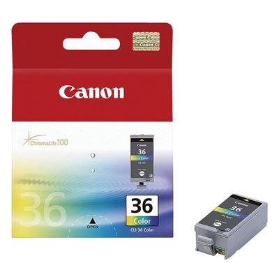 Εικόνα της Μελάνι Canon CLI-36 Colour 1511B001