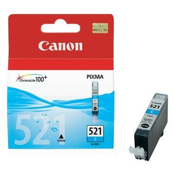 Εικόνα της Μελάνι Canon CLI-521C Cyan 2934B001