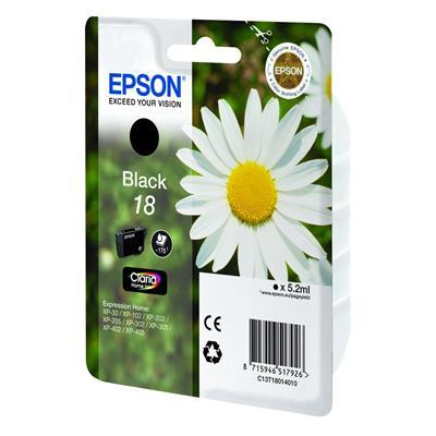Εικόνα της Μελάνι Epson T180140 Black C13T18014010