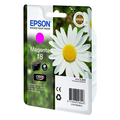 Εικόνα της Μελάνι Epson T180340 Magenta C13T18034010
