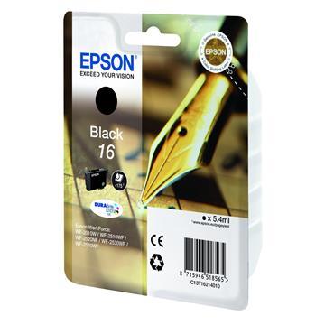 Εικόνα της Μελάνι Epson T1621 Black C13T16214010