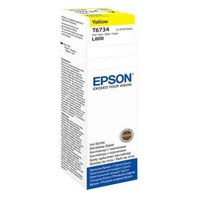 Εικόνα της Μελάνι Epson T6734 Yellow 70ml C13T67344A