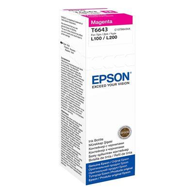 Εικόνα της Μελάνι Epson T6643 Magenta 70ml C13T66434A