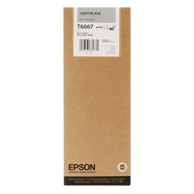 Εικόνα της Μελάνι Epson T6067 Light Black HC C13T606700