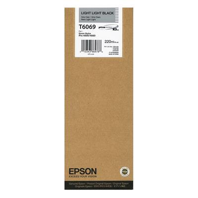 Εικόνα της Μελάνι Epson T6069 Light Light Black HC C13T606900