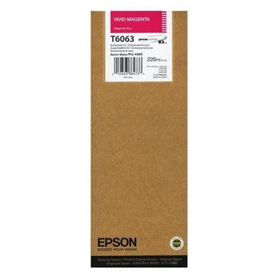 Εικόνα της Μελάνι Epson T6063 Vivid Magenta HC C13T606300