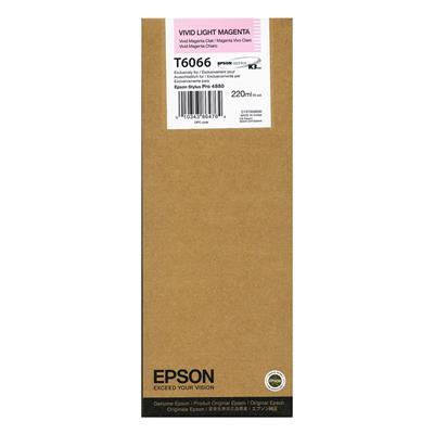 Εικόνα της Μελάνι Epson T6066 Vivid Light Magenta HC C13T606600